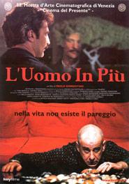 Locandina del film L'uomo in più di Paolo Sorrentino
