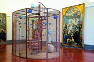 The Cell di Louise Bourgeois a Capodimonte