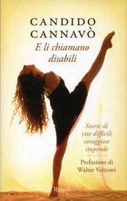 Copertina del libro E li chiamano disabili di Candido Cannavò
