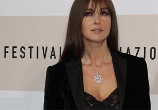 Monica Bellucci al Roma Film Festavial 2008