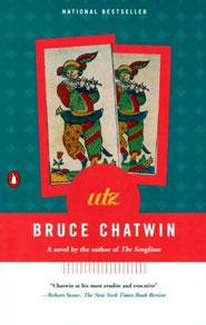 Copertina del libro Utz in edizione inglese