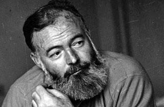 Foto raffigurante Hemingway