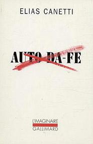 Copertina del libro Auto da fé