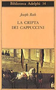 Copertina del libro La cripta dei cappuccini