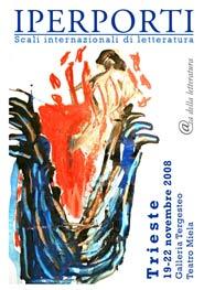 Locandina del festival letterario Iperporti