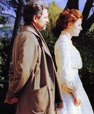 Ennio e Vittoria Mori — Fabrizio Bentivoglio e Valeria Bruni Tedeschi nel film La balia