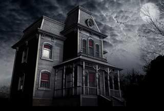 Casa stereotipata dei film dell'orrore