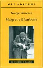 Copertina de Maigret e il barbone