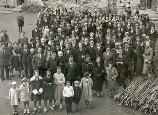 Foto di una comunità di paese