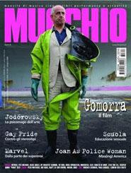 Copertina della rivista Il mucchio