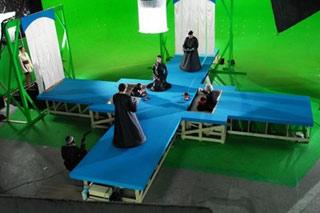 Set del film Santos di Nicolas Lopez