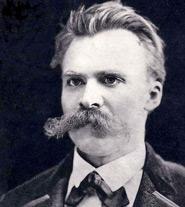 Fotografia di Nietzsche