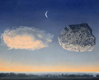 Dipinto di Magritte