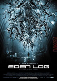 Locandina del film Eden Log del regista Franck Vestiel ospite al Science plus Fiction 2008 a Trieste