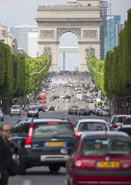 Arco del Trionfo a Parigi