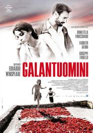 Locandina del film Galantuomini di Edoardo Winspeare