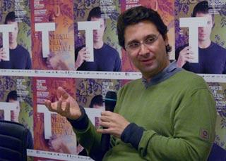 il regista greco Thanos Anastopoulos presente al Trieste Film Festival 2009