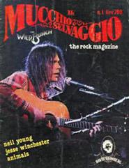 Copertina de Il mucchio selvaggio con Neil Young