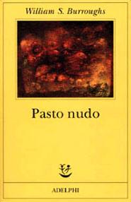 copertina di Pasto Nudo di Burroughs