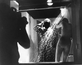 La famosissima scena della doccia in Psyco di Alfred Hitchcock