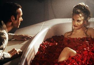 La scena della vasca da bagno di American Beauty con Kevin Spacey