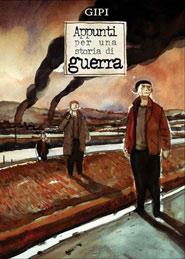Copertina di Appunti per una storia di guerra del disegnatore Gianni Pacinotti in arte Gipi