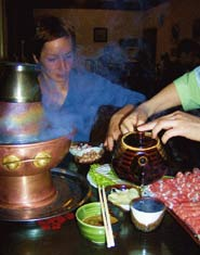 Cronache Transiberiane — sorseggiando hot pot a cena