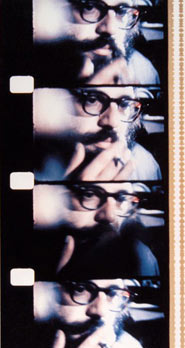 Jonas Mekas-Walden-Allen Ginsberg at the Village Gate, New York, 1966.