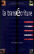 Copertina del libro La transécriture