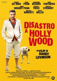 Locandina del film Disastro a Holliwood per la regia di Barry Levinson