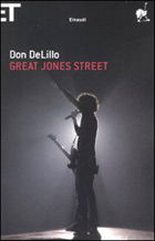 Copertina del libro Great Jones Street