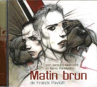 copertina di Mattino Bruno di Franck Pavloff
