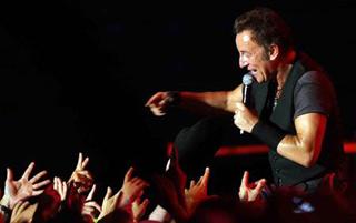 Bruce Springsteen al concerto