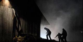 Una scena del film Shadow