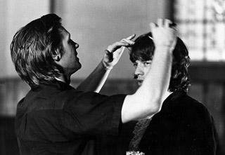 Peter Whitehead e Mick Jagger