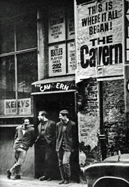 Entrance to the Cavern Club, Liverpool