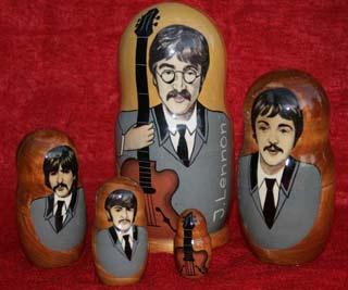 Beatles Matrioska
