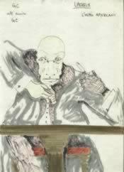 Il disegno originale di Lhereux