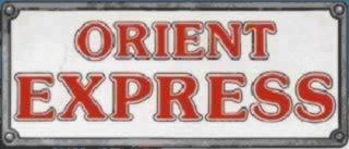 Il logo della rivista Orient Express