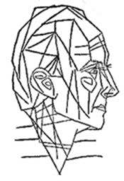 Eluard visto da Picasso