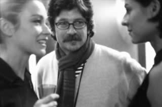 """Alessandro D'Alatri con Stefania Rocca sul set di """"Casomai"""""""