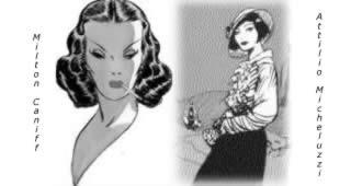 Figure femminili a confronto: Caniff, Micheluzzi (Petra Chérie)