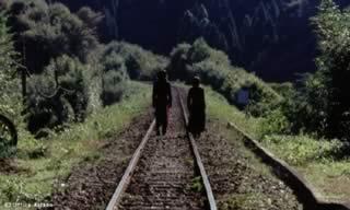 Matsumoto e Sakawa, i protagonisti della prima storia, interpretati Hidetoshi Nishijima e Miho Kanno