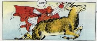 La caccia al cervo della Masque Rouge