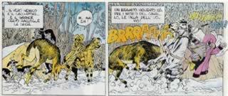 La caccia al cervo di Enrico IV in Hyronimus