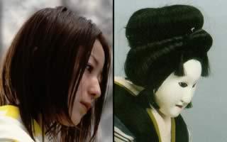 Il volto femminile in Dolls e nel Bunraku