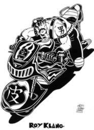 Un disegno di Roy Klang per la serie Gocce