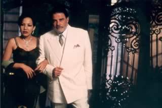 Dulzura (Juan Luis Galiardo) e Rosa (Luisa Maria Jimenez)