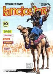 Lanciostory con Dago in copertina