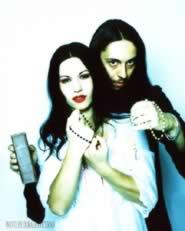 Cristina Scabbia e Andrea Ferro, voci dei Lacuna Coil